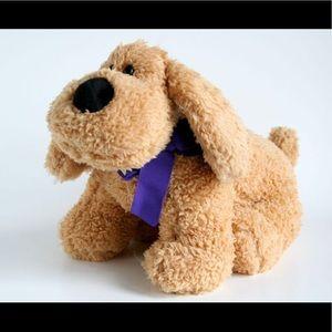 Lucky Lavender Puppy Stuffed Animal